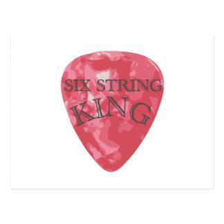 Six String King Postcard