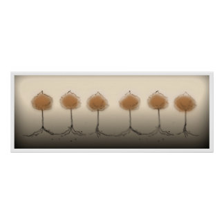 Six Trees Poster