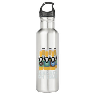 Sixpack Beer on Tour Zn1pu 710 Ml Water Bottle