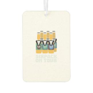 Sixpack Beer on Tour Zn1pu Air Freshener