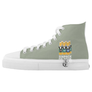 Sixpack Beer on Tour Zn1pu High Tops