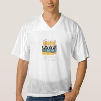 Sixpack Beer on Tour Zn1pu Men's Football Jersey