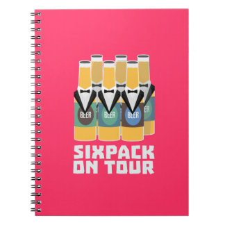 Sixpack Beer on Tour Zn1pu Notebook