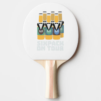 Sixpack Beer on Tour Zn1pu Ping Pong Paddle
