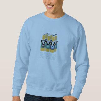 Sixpack Beer on Tour Zn1pu Sweatshirt