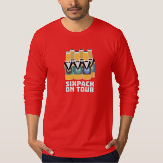 Sixpack Beer on Tour Zn1pu T-Shirt