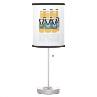 Sixpack Beer on Tour Zn1pu Table Lamp