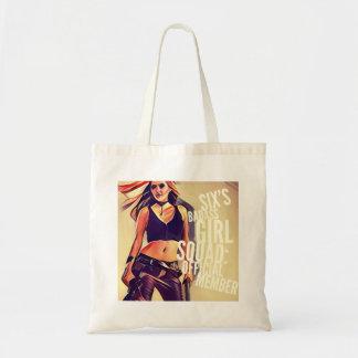 Six's Badass Girl Squad: Tote Bag