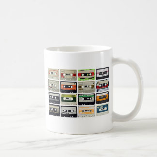Sixteen Audio Cassettes Coffee Mug