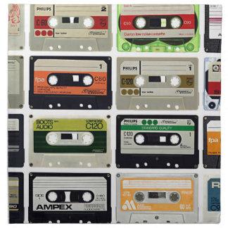 Sixteen Audio Cassettes Napkin