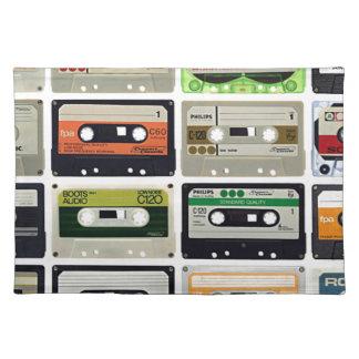 Sixteen Audio Cassettes Placemat
