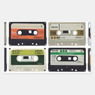 Sixteen Audio Cassettes Sticker
