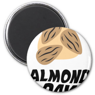 Sixteenth February - Almond Day 2 Inch Round Magnet