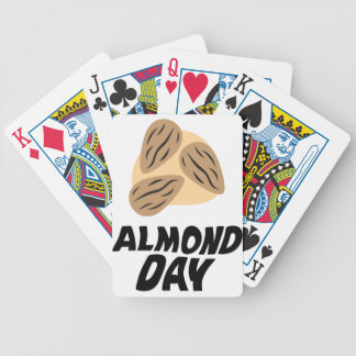 Sixteenth February - Almond Day Bicycle Playing Cards