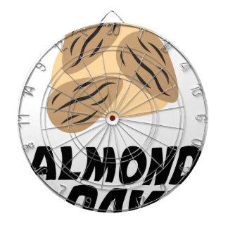 Sixteenth February - Almond Day Dartboard