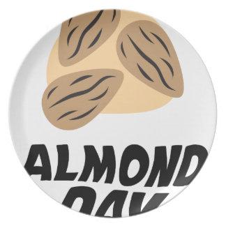 Sixteenth February - Almond Day Plate
