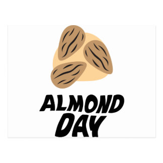 Sixteenth February - Almond Day Postcard