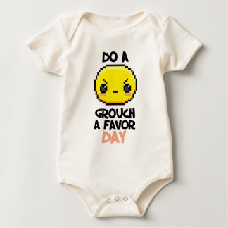 Sixteenth February - Do a Grouch a Favor Day Baby Bodysuit