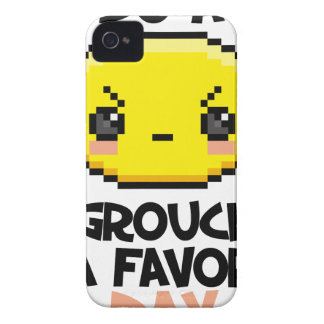 Sixteenth February - Do a Grouch a Favor Day iPhone 4 Case
