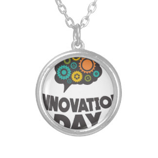 Sixteenth February - Innovation Day Silver Plated Necklace