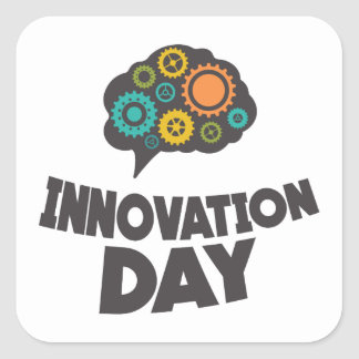 Sixteenth February - Innovation Day Square Sticker