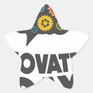 Sixteenth February - Innovation Day Star Sticker