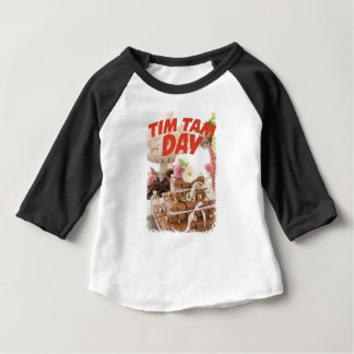 Sixteenth February - Tim Tam Day Baby T-Shirt