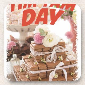 Sixteenth February - Tim Tam Day Coaster
