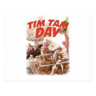 Sixteenth February - Tim Tam Day Postcard