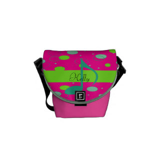 Sixteenth Note Music Symbol Courier Bag