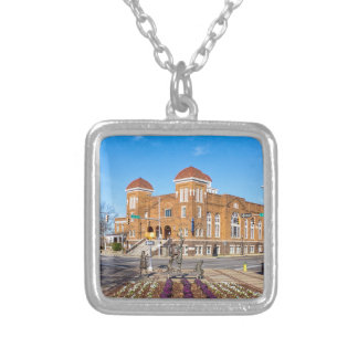 Sixteenth Street Baptist Church Silver Plated Necklace