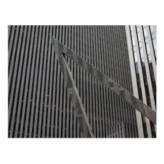 Sixth Avenue Architecture New York City Photograph Postcard