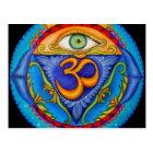 Sixth chakra, Third eye Postcard