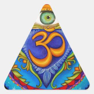 Sixth chakra, Third eye Triangle Sticker