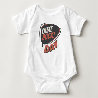 Sixth February - Lame Duck Day - Appreciation Day Baby Bodysuit