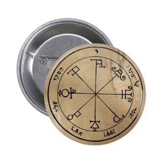 Sixth Pentacle of Saturn Button