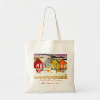 Sixth Street Snow Design Tote Bag