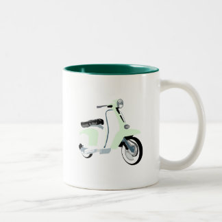 Sixties Mod Scooter Two-Tone Coffee Mug