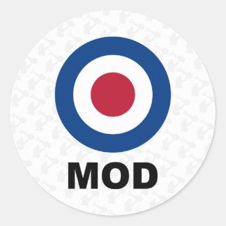 Sixties Mod Target Sticker
