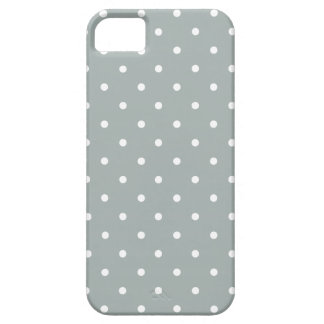 Sixties Style Gray Polka Dot iPhone 5/5S Case
