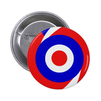 Sixties style mod design 2 inch round button