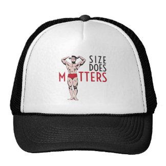 Size does matters with vintage bodybuilder trucker hat