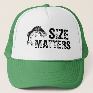 Size Matters Bass Fishing Hat