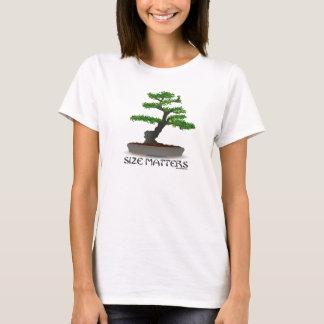 Size Matters Bonsai Gardening Shirt for Girls
