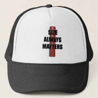 Size Matters (Poker) Trucker Hat