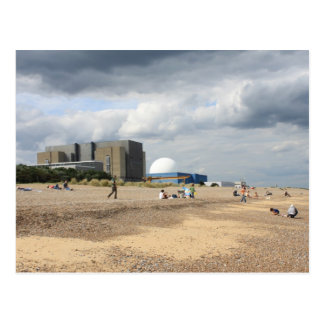 Sizewell Nuclear Power Station Postcard