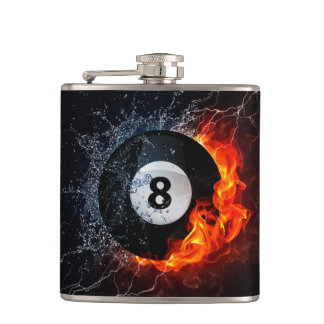 Sizzling Eight Father's Day Flask