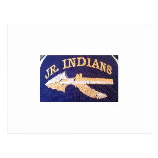 SJHFC RRL Jr. Indians Under 14 Postcard