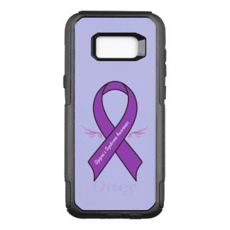Sjogren's Syndrome Awareness Ribbon with Wings OtterBox Commuter Samsung Galaxy S8+ Case