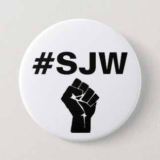 #SJW Social Justice Warrior 3 Inch Round Button